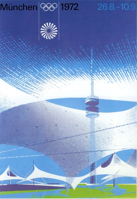 1972 olympic games poster