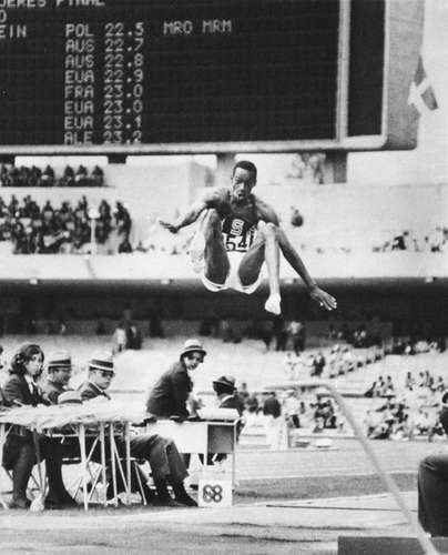 Bob Beamon world record Olympic Games Mexico 1968
